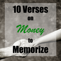 10 Verses on Money to Memorize